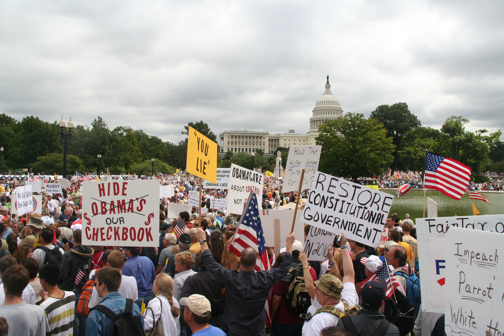 Manifestation du Tea Party à Washington DC, septembre 2009